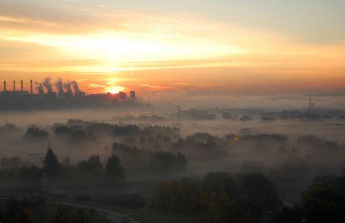 Осеннее утро, 27.09.2010 в Братеево